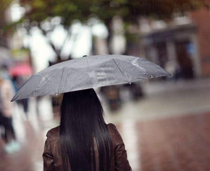 Modny i trwały parasol